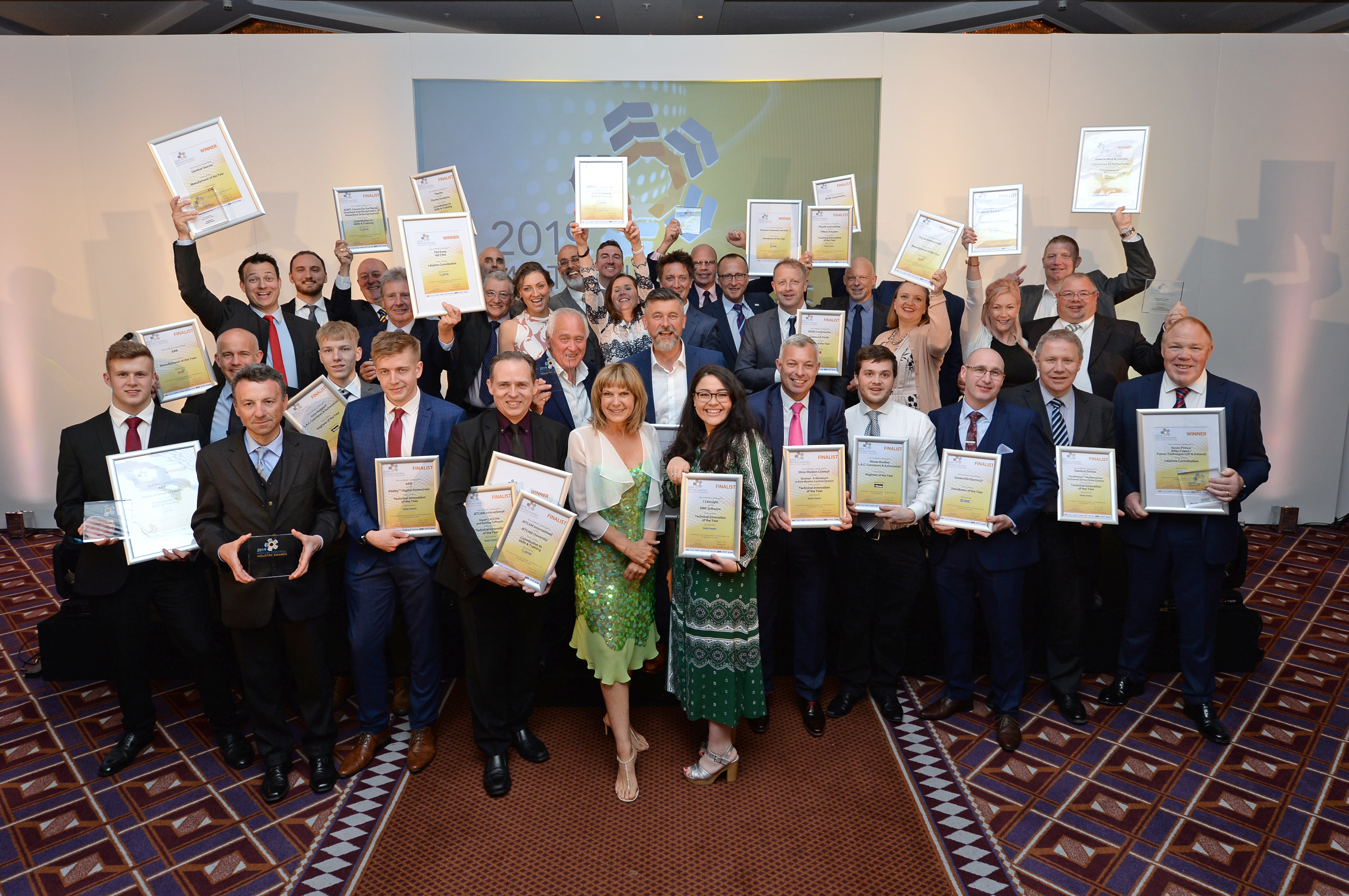 "Winners and finalists of ""Motion Control Industry Awards 2019"""